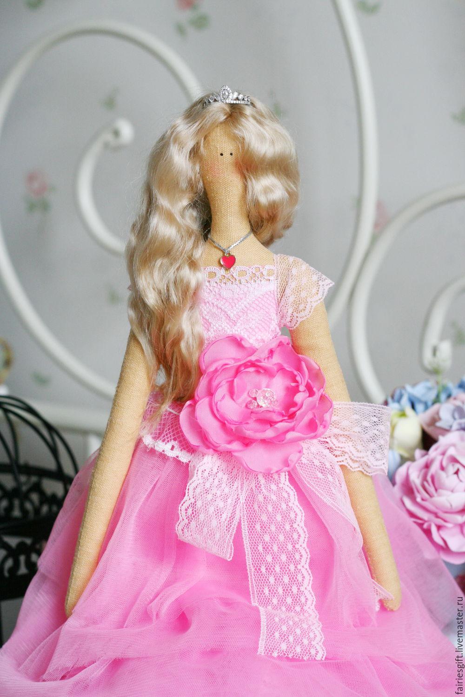 Текстильная кукла Королева бала, Куклы Тильда, Москва,  Фото №1