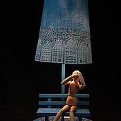"""Для дома и интерьера ручной работы. Ярмарка Мастеров - ручная работа Авторский светильник """"ПАРК, СКАМЕЙКА"""". Handmade."""