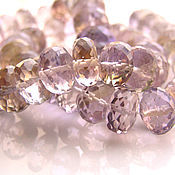 Beads1 handmade. Livemaster - original item natural ametrine beads. Handmade.
