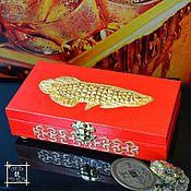 Фен-шуй и эзотерика handmade. Livemaster - original item Box money, Copernica, Arowana Feng Shui Money talisman. Handmade.