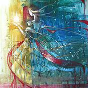 Картины и панно ручной работы. Ярмарка Мастеров - ручная работа October light. Handmade.