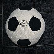 Для дома и интерьера ручной работы. Ярмарка Мастеров - ручная работа Мяч футбольный диванно-автомобильный. Handmade.