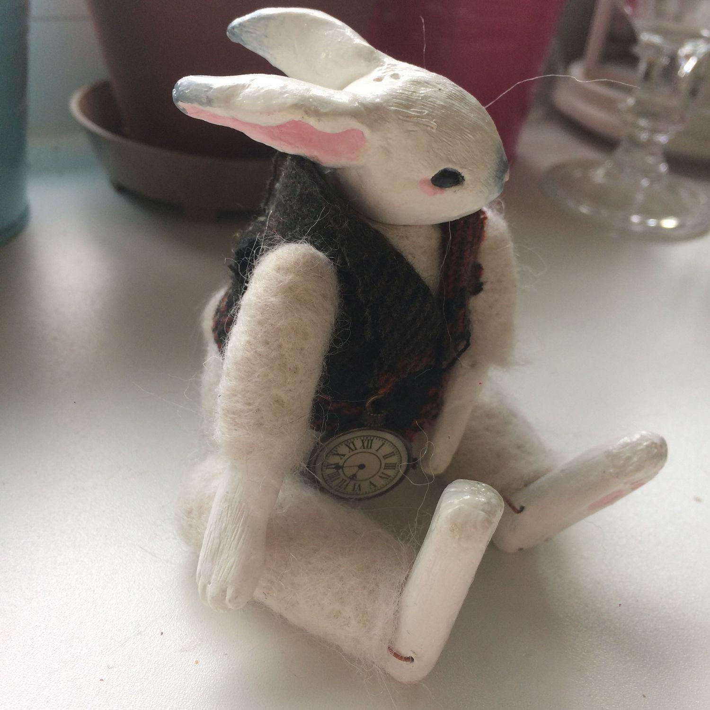 Игрушка Белый Кролик, Мягкие игрушки, Москва,  Фото №1