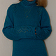 Кофты и свитера ручной работы. Ярмарка Мастеров - ручная работа. Купить Свитер мохеровый с ажурным узором. Handmade. Свитер