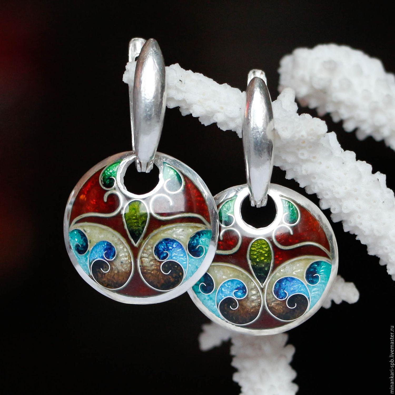 Восточные украшения из серебра ручной работы