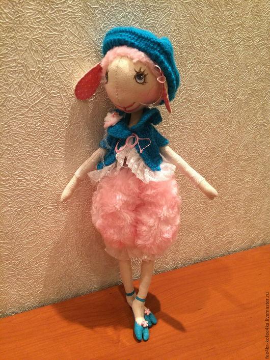 Коллекционные куклы ручной работы. Ярмарка Мастеров - ручная работа. Купить Кукла КОЗОЧКА. Handmade. Кукла в подарок, тематическая кукла