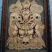 "Картины ручной работы. Ярмарка Мастеров - ручная работа Бог Египта ""Царство Анубиса"". Handmade."