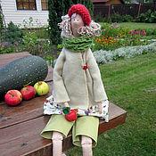 Куклы и игрушки ручной работы. Ярмарка Мастеров - ручная работа Осенняя Фея с яблочком. Handmade.