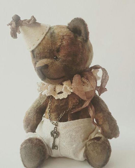 Мишки Тедди ручной работы. Ярмарка Мастеров - ручная работа. Купить ООАК, винтажный тедди-мишка Трюфель. Handmade.