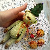Куклы и игрушки ручной работы. Ярмарка Мастеров - ручная работа Ёлка, Мишка Тедди. Handmade.
