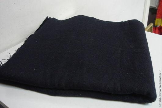 Одежда. Ярмарка Мастеров - ручная работа. Купить Ткань шерстяная. Винтаж. Скидка!. Handmade. Черный, винтаж, ткань для шитья, шитье