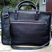 Сумки и аксессуары handmade. Livemaster - original item Bags: men`s briefcase. Handmade.