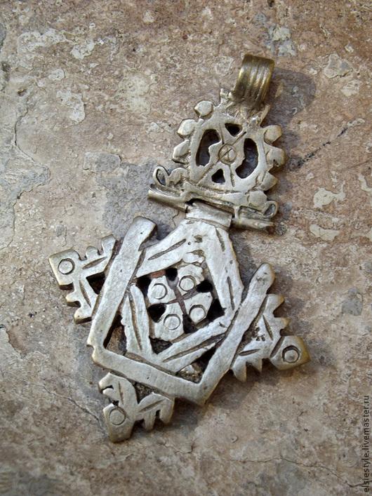 Кулоны, подвески ручной работы. Ярмарка Мастеров - ручная работа. Купить Миафизитство (ветхозаветный крест). Handmade. Металл, ручная работа