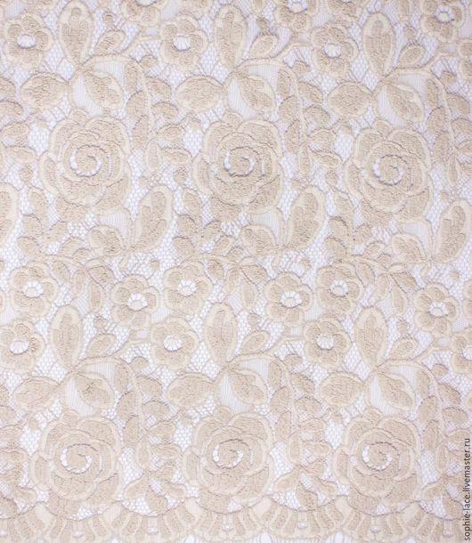 Шитье ручной работы. Ярмарка Мастеров - ручная работа. Купить Шерстяное кружевоWinter Rose Beige-Sable от Sophie Hallette. Handmade.