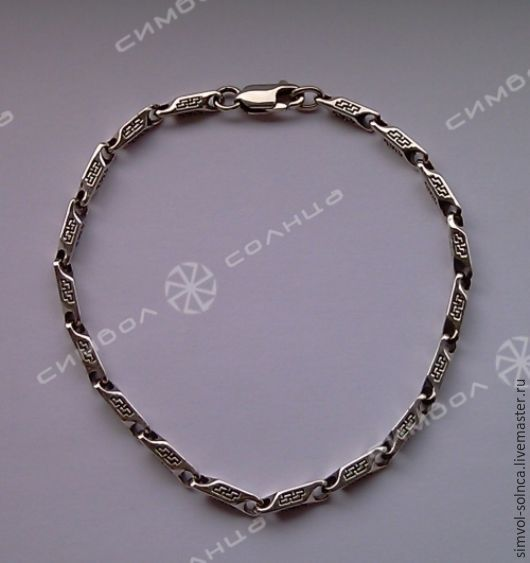 Bracelet Perun (3.5 mm), Folk decorations, Sochi,  Фото №1