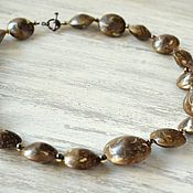 Украшения handmade. Livemaster - original item necklace from polymer clay