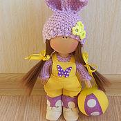 Куклы и игрушки ручной работы. Ярмарка Мастеров - ручная работа Текстильная кукла- малышка. Лило. Handmade.