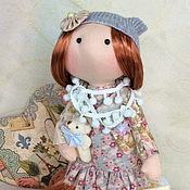 Куклы и игрушки ручной работы. Ярмарка Мастеров - ручная работа Шэрон и мишка.... Handmade.