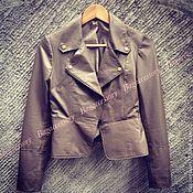 Куртки ручной работы. Ярмарка Мастеров - ручная работа Куртка из натуральной кожи ламы. Handmade.