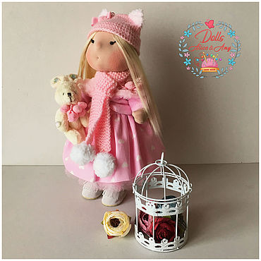 Куклы и игрушки ручной работы. Ярмарка Мастеров - ручная работа Куколки интерьерные ручной работы. Handmade.