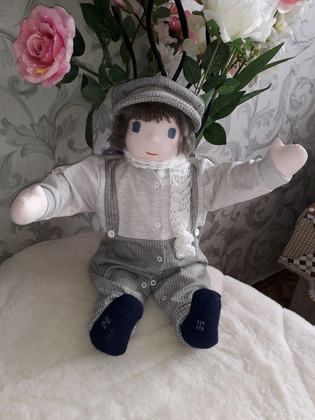 Вальдорфская кукла мальчик Саша (55см), Вальдорфская игрушка, Киржач, Фото №1
