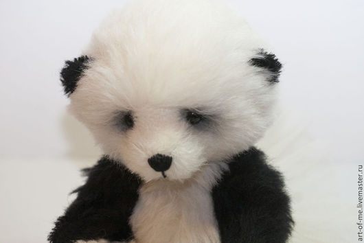 Мишки Тедди ручной работы. Ярмарка Мастеров - ручная работа. Купить Панда Юси. Handmade. Чёрно-белый, подарок