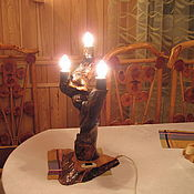 Для дома и интерьера ручной работы. Ярмарка Мастеров - ручная работа Канделябр на три свечи. Handmade.