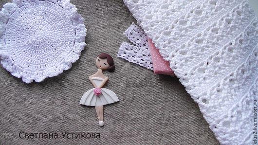 Настасья. Брошь Светлана Устимова elus2.livemaster.ru