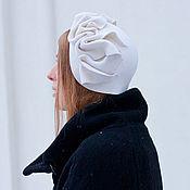 Аксессуары ручной работы. Ярмарка Мастеров - ручная работа Шляпа капор. Handmade.