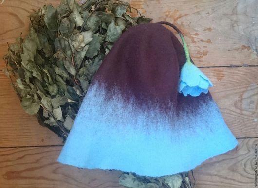 Банные принадлежности ручной работы. Ярмарка Мастеров - ручная работа. Купить шапка банная. Handmade. Шапка банная, на заказ, баня