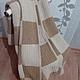 Текстиль, ковры ручной работы. Вязаное одеяло. Яна Матвеева (Podarimiruteplo). Интернет-магазин Ярмарка Мастеров. Вязаный плед, покрывало