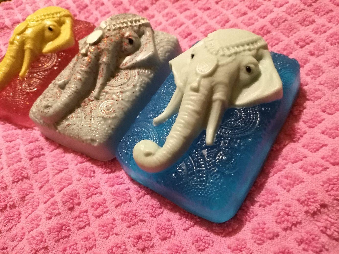 Мыло, набор, слон, Мыло, Москва, Фото №1