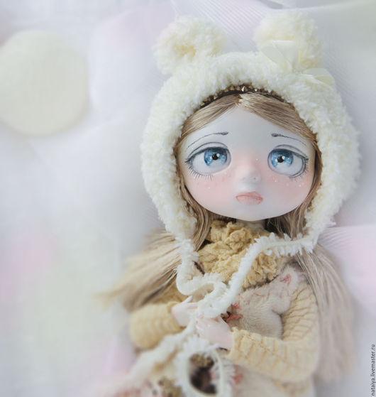 Коллекционные куклы ручной работы. Ярмарка Мастеров - ручная работа. Купить Ваниль. Handmade. Кремовый, акрил