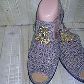 Обувь ручной работы. Ярмарка Мастеров - ручная работа Сандалии. Handmade.