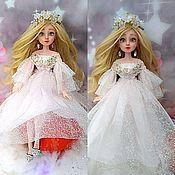 """Шарнирная кукла ручной работы. Ярмарка Мастеров - ручная работа Кукла""""Снегурочка"""" Ооак, Шарнирная, Большая. Handmade."""