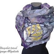 Аксессуары handmade. Livemaster - original item Bactus felted on silk