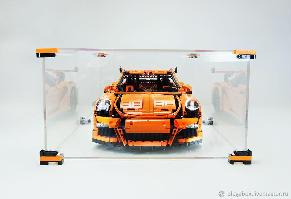 Демонстрационный бокс для Лего Порш (Lego Technic Porsche 911 GT3 RS), Техника роботы транспорт, Нижний Новгород,  Фото №1
