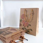 Инструменты для кукол и игрушек ручной работы. Ярмарка Мастеров - ручная работа Крафт пакет 32х24. Handmade.