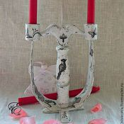 Для дома и интерьера handmade. Livemaster - original item Wooden candle holder, Classic,. Handmade.