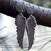 Украшения handmade. Livemaster - original item earrings silver