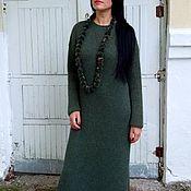 Одежда handmade. Livemaster - original item Sweater dress Alpaca 100% ALPACA Pery mix handmade. Handmade.