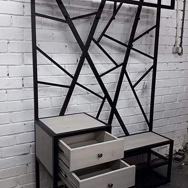 Мебель ручной работы. Ярмарка Мастеров - ручная работа Прихожая в стиле лофт.. Handmade.