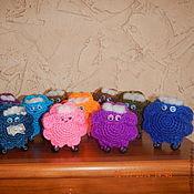 Куклы и игрушки ручной работы. Ярмарка Мастеров - ручная работа Барашки-кругляшки. Handmade.