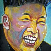 Картины и панно ручной работы. Ярмарка Мастеров - ручная работа картина Радость вождя. Handmade.