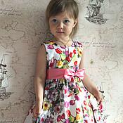 Работы для детей, ручной работы. Ярмарка Мастеров - ручная работа платье для девочки Катюша. Handmade.