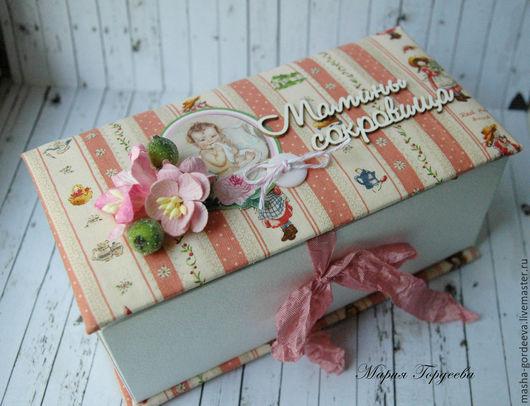 Подарки для новорожденных, ручной работы. Ярмарка Мастеров - ручная работа. Купить Мамины сокровища для девочки. Handmade. Коралловый