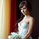 Bridal corset with cups from Gleamnight fashion studio