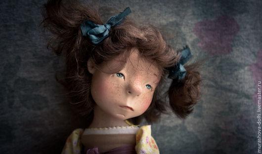 Коллекционные куклы ручной работы. Ярмарка Мастеров - ручная работа. Купить Яблочная пастила. Handmade. Лимонный, любить и жаловать