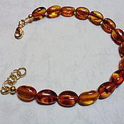 Украшения handmade. Livemaster - original item Natural amber bracelet (Baltic States). Handmade.