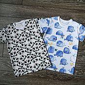 Работы для детей, handmade. Livemaster - original item T-shirts